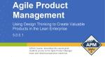 SAFe Agile Product Management