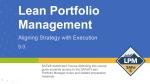 SAFe Lean Portfolio Management LPM